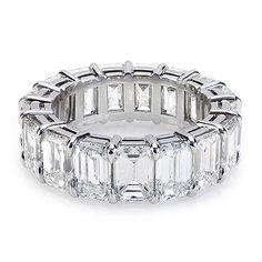 Birks Emerald Cut Diamond Wedding Band... A girl can dream.