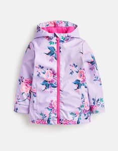 9c88a8a18 Raindance LILAC CHINOISERIE FLORAL Waterproof Coat 3-12yr | Joules US Joules  Kids, Joules