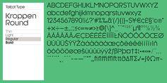 Kroppen Round - Webfont & Desktop font « MyFonts
