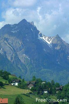 Picture of Mount Pilatus seen from Burgenstock, Lake Lucerne, Switzerland