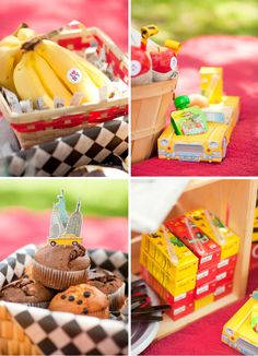 For J's 1st birthday... Food options!