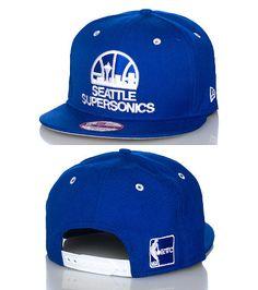 NEW ERA Basketball snapback cap Embroidered Seattle Supersonics team logo on front Adjustable strap . Strapback Cap, Superfly, Basketball Teams, Snap Backs, Chicago Bulls, Headgear, Snapback Hats, Caps Hats, Team Logo
