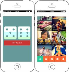 A social networking application where users can click pictures and apply text and filters on them, share them with friends, shoot videos and post on profiles.