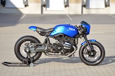 The rather edgily named 'Schizzo' series of builds from Germany's Walzwerk Racing were intended to show just how changeable the BMW R80 and R100 monolever bikes can be. You name the style, the bike can probably handle it...