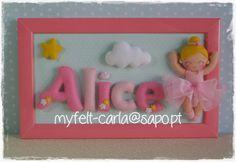 My Felt: Um quadro delicado para a Alice!