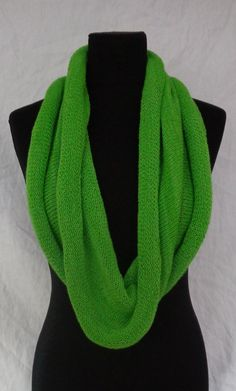 Green Shoulder Cowl Scarf  Icelandic Production by HuldaGK on Etsy
