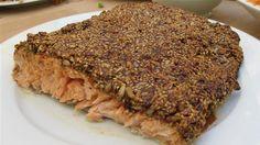 Salmon with sesame crust/Laks med sesamlåg
