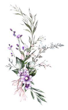 Blue instead of purple – Flowers Flowers Botanical Flowers, Botanical Art, Inspiration Art, Art Inspo, Flower Frame, Flower Art, Cute Wallpapers, Wallpaper Backgrounds, Watercolor Flowers