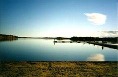 Nydala Lake in Umea, Sweden.