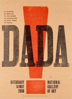 Dada graphic design