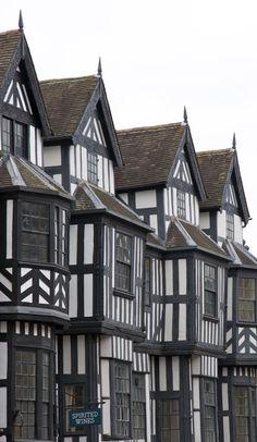 Period Architecture, Shrewsbury, Shropshire, England