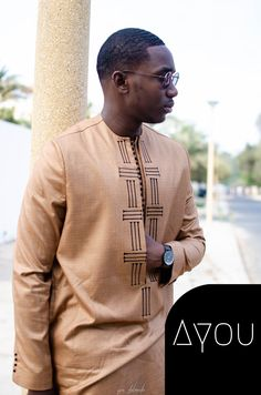 Latest African Wear For Men, African Shirts For Men, African Dresses Men, African Attire For Men, African Clothing For Men, Latest African Fashion Dresses, African Print Fashion, Costume Africain, Nigerian Men Fashion