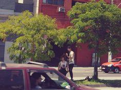 Corte de cabelo ao ar livre. - Porto Alegre. #freedom #haircut  #street