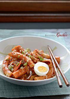 How to make Spicy Korean Rice Cakes, Tteok-pokki (떡볶이)
