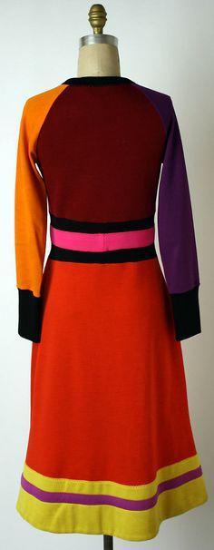 Dress early 1970s, Stephen Burrows