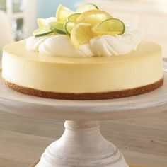 How to Bake the Ultimate Spring Cheesecake. Click to see all the ingredients for this Lemon-Lime Cheesecake! #recipe #dessert