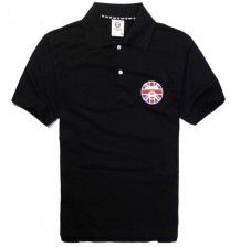 AAPE by Bathing Ape BAPE  England Face Polo Shirt  - Get yours now at deepluxe.com