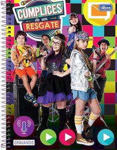 Mundo Teens: Tilibra lança cadernos de Cumplices de Um resgate Barbie, Cool Kids, Superstar, Punk, Celebrities, Notebook, School, Disney, Fashion