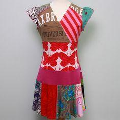 recycled tees dress Axbridge university by Dressme of Etsy