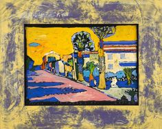 Boris Jirků - Via Paorevinti - Galerijní ulice v Jistebníku - Ostrava - Moravskoslezský kraj Ulice, Painting, Art, Painting Art, Paintings, Kunst, Paint, Draw, Art Education