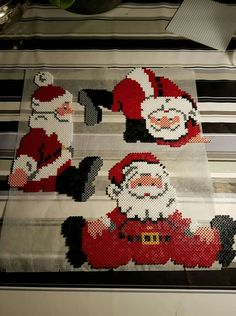 Billedresultat for hama beads santa claus Hama Beads Patterns, Beading Patterns, Christmas Crafts, Christmas Decorations, Christmas Ornaments, Bead Crafts, Diy And Crafts, Christmas Perler Beads, Pokemon Perler Beads