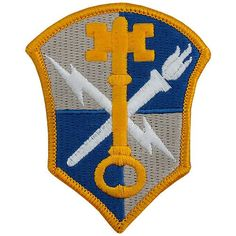 Intelligence Security Command Class A Patch Us Militarypatch