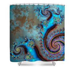 Life Cycles Shower Curtain