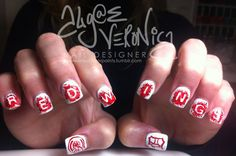 Detroit Red Wings Nails