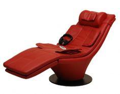 Szezlong Viola II - zdrowe fotele to fotele z masażem ! Sanyo : HumanTouch : masaż rolkowy, sterowanie komputerowe, programy, promocja : fotele wielufunkcyjne, ekspozycja, kręgosłup, lędźwiowy, masaż shiatsu