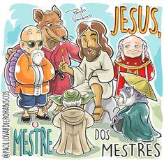 SÓ ELE É DONO DE TODA A SABEDORIA! 👐👐👐♻❤ Christian Memes, Christian Faith, Jesus Cartoon, Bible Images, Bride Of Christ, Religious Images, Jesus Freak, Jesus Is Lord, Jesus Loves Me