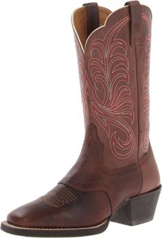 Ariat Women's Mesquite Boot,Fiddle Brown/Brown,10 M US - http://womenswinterboots.asiaparent.com/ariat-womens-mesquite-bootfiddle-brownbrown10-m-us/