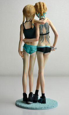 Art dolls  by Eric van Straaten