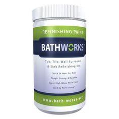 Magic 17 Oz Bath Tub And Tile Refinishing Kit Spray On Epoxy In White RNWTT At The Home Depot
