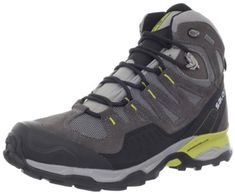 Salomon Men's Conquest GTX Backpacking Boot  Salomon Men's Conquest GTX Backpacking Boot      Waterproof and breathable Gore-Tex membrane     Protective rubber toe cap     Molded EVA midsole     Non-marking Contagrip outsole     Gusseted tongue locks out debris