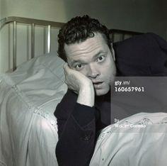 News Photo: Rendezvous With Orson Welles En janvier 1950 dans…