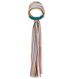 Multicoloured striped headband