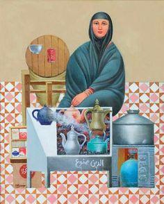 Iraqi artist, Faisal laebee  الفنان العراقي فيصل لعيبي