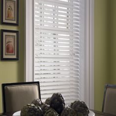 Custom Size Now by Levolor 31-in W x 64-in L White Faux Wood 2-in Slat Room Darkening Plantation Blind // double up for full width