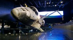 Space Shuttle Atlantis Exhibit - by @thenasaman.  Atlantis was my favorite shuttle...glad to see she found a home at KSC!  Great article about the exhibit - http://boingboing.net/2013/07/01/atlantis-returns-to-kennedy-a.html