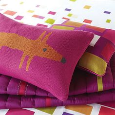 Buy Scion Mr Fox Knitted Cushion Online at johnlewis.com
