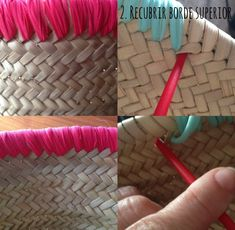 Diy Tote Bag, Diy Purse, Beach Basket, Creation Couture, Boho Bags, Beach Accessories, Basket Bag, Summer Bags, Handmade Bags