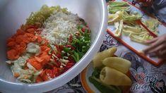 NapadyNavody.sk   Najlepšia domáca čalamáda bez zavárania Cabbage, Grains, Rice, Meat, Chicken, Vegetables, Food, Veggie Food, Cabbages