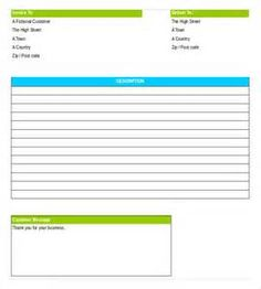 Delivery Note Template Free Download   Saferbrowser Yahoo Image Search  Results