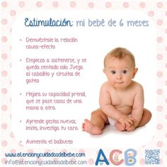 Estimulación para mi bebé de 6 meses #atencionycuidadosdelbebe #estimulacion