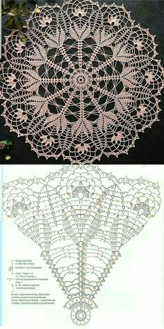 Free Crochet Doily Patterns, Crochet Bunny Pattern, Crochet Art, Thread Crochet, Crochet Designs, Crochet Crafts, Crochet Dollies, Crochet Decoration, Knitting