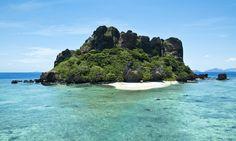 Vomo Fijian Resort, Vomo Lailai, our tiny private island.