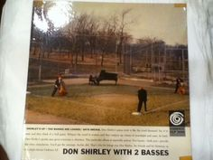 Don Shirley with 2 Basses LP 1958 Cadence CLP 3008 RARE