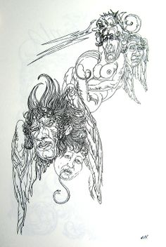 Drawing by Austin Osman Spare.