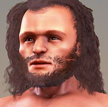 "Cro-Magnon's body was generally heavy and solid with a strong musculature. The forehead was fairly straight rather than sloping like in Neanderthals, and with only slight browridges. The face was short and wide. Cro-Magnons had a prominent chin. The brain capacity was larger than the average for modern humans. However recent research suggests that the physical dimensions of so-called ""Cro-Magnon"" are not sufficiently different from modern humans to warrant a separate designation."