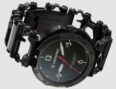 The Leatherman Tread is a cool looking bracelet that comes in very handy as it is comprised of 25 tools, with an optional watch also in the pipeline.
